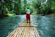 Private Transportation to Great River Bamboo Rafting From Grand Palladium Hotel