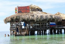 Private Transportation to Floyd's Pelican Bar & YS Falls Tour From Montego Bay Hotels