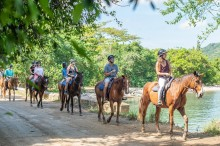 Private Transportation to ATV and Horseback Ride 'N' Swim From Falmouth Hotels